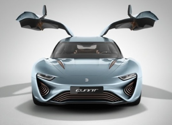 Saltwater Powered Electric Car