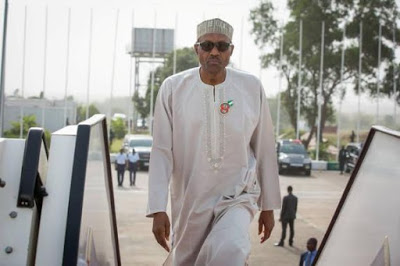 President-Muhammadu-Buhari-off-to-South-Africa-Dec.-2015