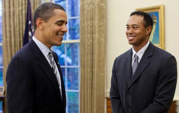 President Obama Spent $4Million To Play Golf Wtih Tiger Woods