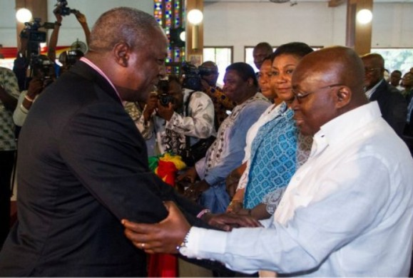 Breaking: Akufo-Addo Allegedly defeats Incumbent Pres. Mahama in Ghana's presidential election