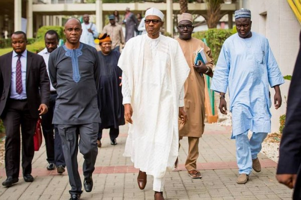 Buhari-.-President-elect-GMB-moves-into-Defence-House-in-Abuja