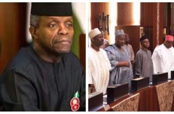 """Breaking: Nigeria's falling apart-36-Corrupt governors under pressure declares: """"Nigeria must not break.."""""""