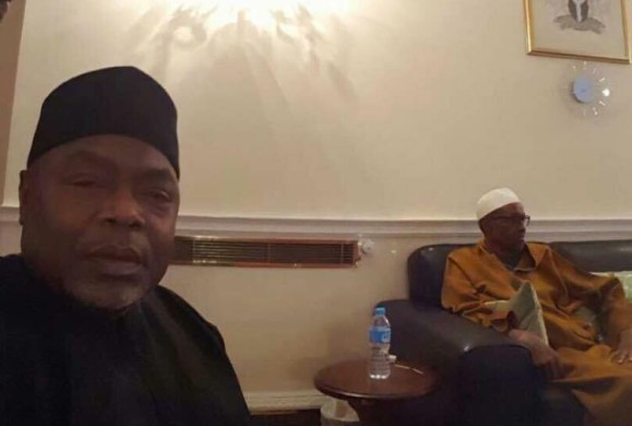 First picture of Buhari surfaces online after 68 days in London