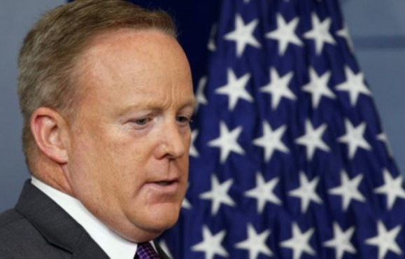 Breaking: Trump's Trusted Press Secretary Sean Spicer Resigns as White House over vehement disagreement on appointment of Financier Anthony Scaramucci as communications director