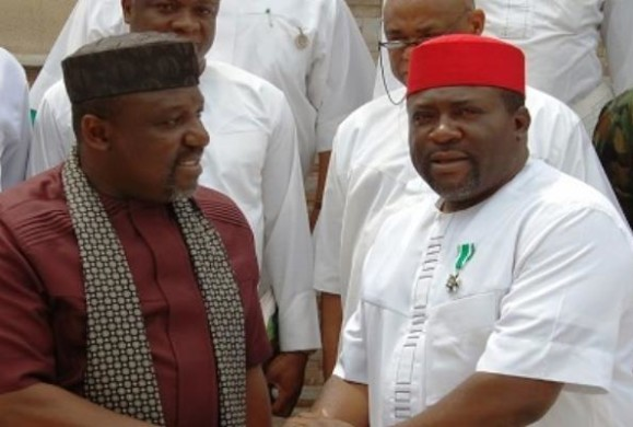 "Gov Okorocha Attacks His Duty P.E. Madumere-""You, ingrate, you were ""Nobody when I picked you to become Chief of Staff and later Deputy Governor..""–Okorocha"