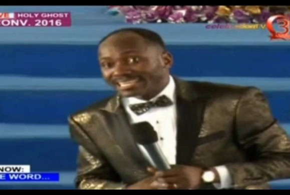 "Must Watch Video: ""The Witch Must Die"", ""Your Child is at the point of dead because of what you did"", ""you washed your private part to cook for people..come out;"" ""you're are 41-years old come-out..""–Apostle Johnson Suleman"