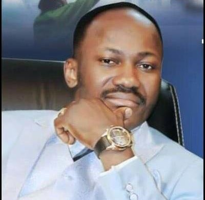 "Watch: ""God bless you"", What they took from you they will bring back to you""Psalm 62:11 Power Belongs To God""–Apostle Johnson Suleman"