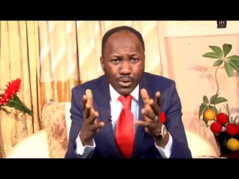 "Oracle Of God: ""You cannot kill a man who carries prophesy-Signs & Wonders-Sign is about God that He is, wonder is about man that God is awesome..""–Apostle Johnson Suleman"