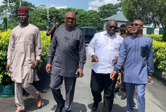 "Breaking: Gov Ikpeazu Backs Peter Obi's VPship to Atiku's Presidential Ambition : ""We are proud to have you as our leader, ally and incoming Vice President"""