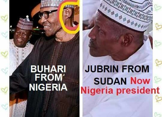 Update: Breaking-E-X-P-O-S-E-D: Fake Buhari from Sudan, Jubril Al Sudan busted, Nigerian Buhari died in 2017 flown to & Buried in Saudi-Arabia', Nigeria is a fraud–Republic Reporters