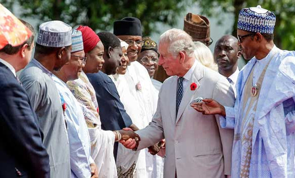 Update: Breaking: Biafra: British officials rushing in and out of so called-Nigeria as British-Nigeria nears collapse/in tatters..yesterday Prime Minister May visited, today Prince Charles is visiting..very suspicious, who will visit next?—Republic Reporters
